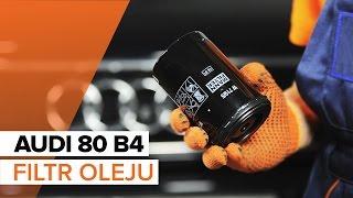 Jak wymienić olej silnikowy i filtr oleju w AUDI 80 B4 TUTORIAL | AUTODOC