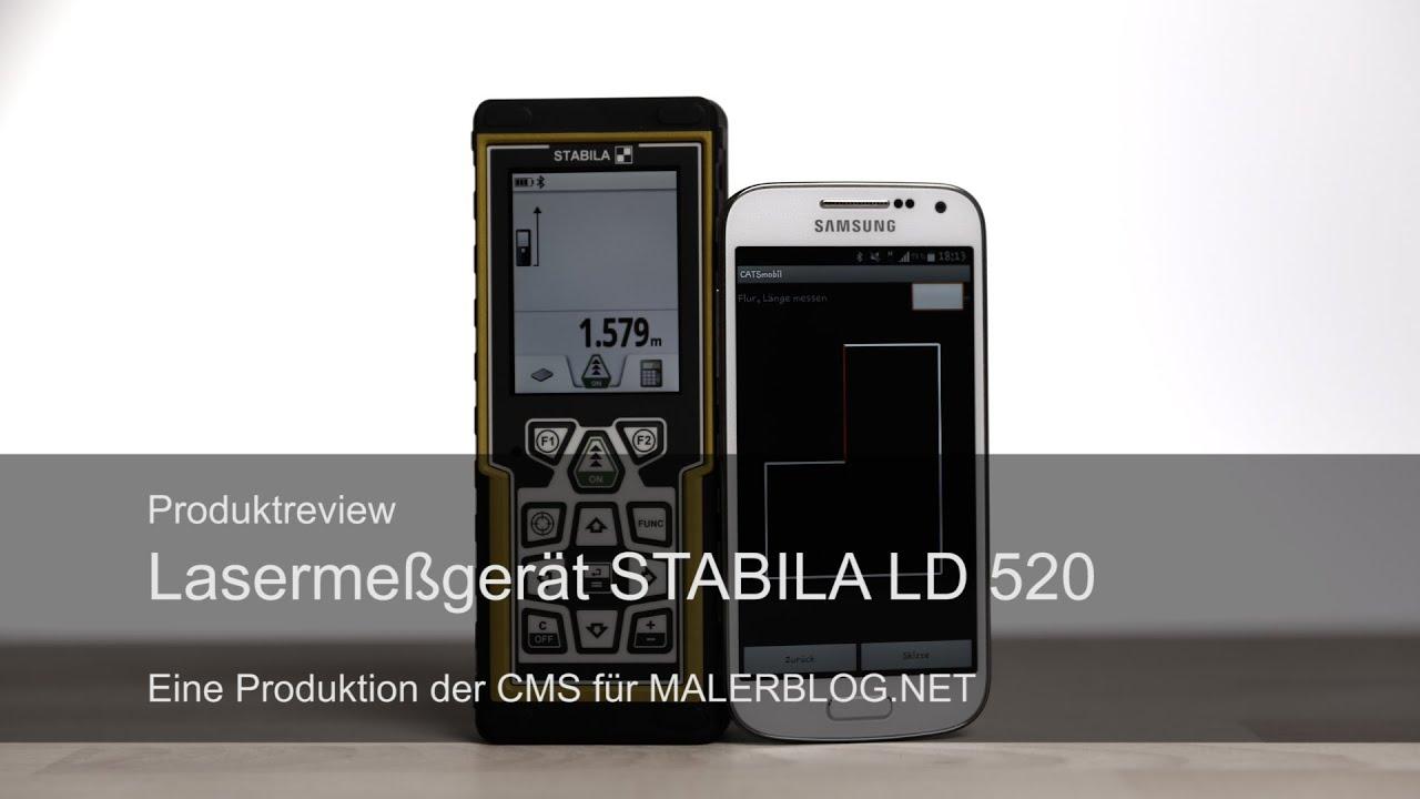 Review stabila bluetooth lasermeßgerät ld und catsmobil d