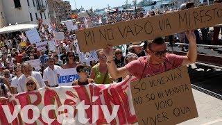 Cities Around Europe Rebel Against Tourism