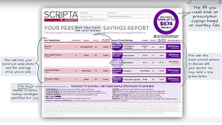 How to Read Your Personalized Savings Report | Scripta Insights