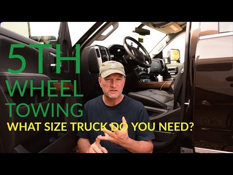5th Wheel towing - Is your truck big enough?