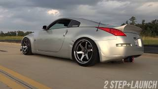 Nissan 350z HR Exhaust || Tomei Expreme Ti Exhaust (Start Up,Revs,2 Step, Fly Bys)