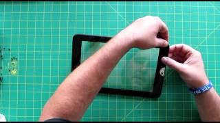 how to teardown rebuild replace a toshiba thrive screen