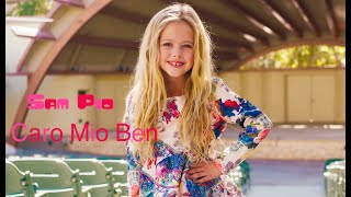 Caro Mio Ben Cover by 6-YEAR-OLD - Sam Pio 🎵