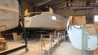 Building Two 80 Foot Custom Catamarans
