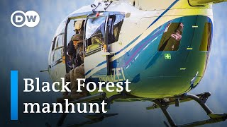 Manhunt continues for armed fugitive in Germany's Black Forest | DW News