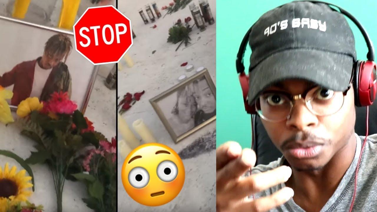 help-juice-wrld-juice-wrld-black-white-official-music-video-reaction