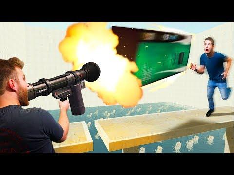Furniture Dodgeball Challenge!   Garry's Mod