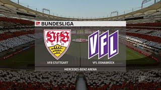 A simulation of the upcoming match in german bundesliga 2, vfb stuttgart vs vfl osnabruck.#stuttgartosnabruck #stuttgartvflosnabruck #vfbstuttgartosnabru...