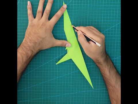 Origami T-Rex Tutorial - Part 4