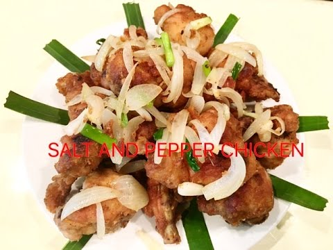 How To Make Salt And Pepper Chicken