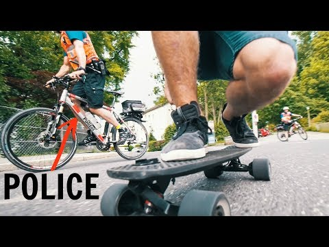 Why would you NOT allow Electric Skateboards!?