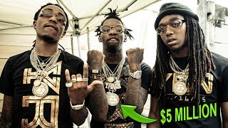 Gambar cover These 5 EXPENSIVE ITEMS The Migos BOUGHT Will SHOCK You! ( Quavo, Offset, Takeoff )