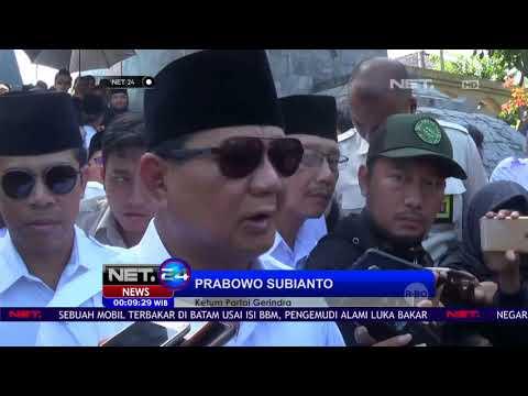 Prabowo Tanggapi Hasil Survey Sementara Jelang Pilpres 2019 -NET24