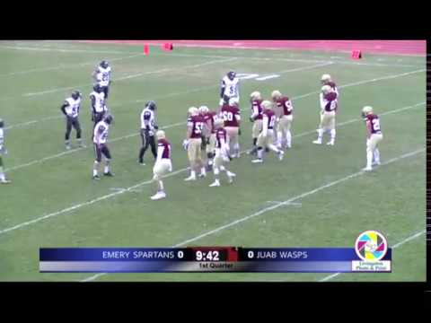 3A Football: Emery at Juab High School 2018 UHSAA State Tournament Round 1