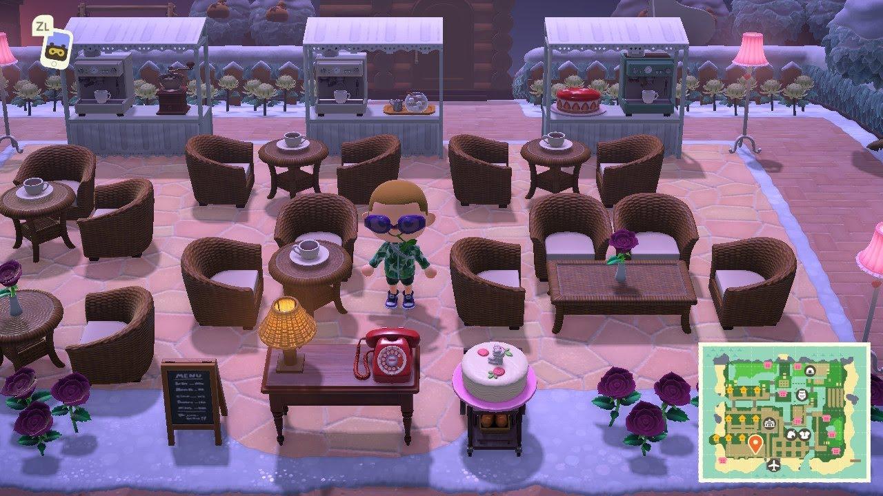 ACNH Snow Themed House Ideas - Animal Crossing New ...