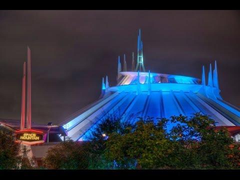[4K] BEST LOWLIGHT Space Mountain Disneyland POV Full ...