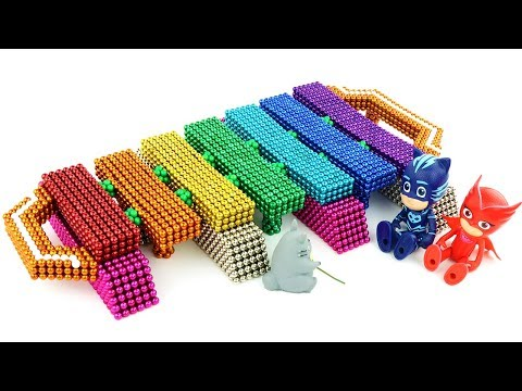 DIY How To Make Xylophone with Magnetic Balls (Satisfying and Relaxing)