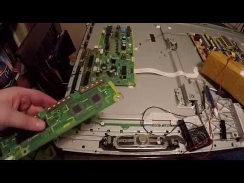 How to Fix a Panasonic Plasma TV with 7 Blinks TC-P55ST30 TNPA5340 TNPA5341