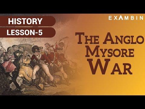 The Anglo Mysore Wars I British Conquest of Mysore