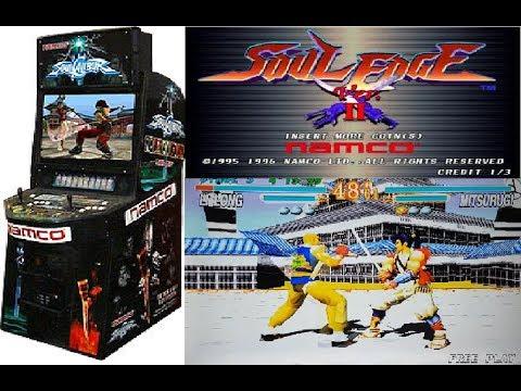 Namco System 11 Arcade PCB Soul Edge Gameplay (Arcade Hardware)