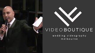 Alfonso Villegas - Master of Ceremonies - Melbourne