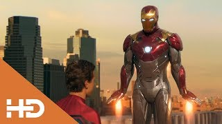 Тони Старк забирает костюм у Питера ★ Человек паук: Возвращение домой (2017)