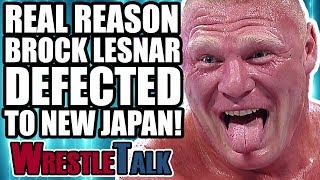 Real Reason Brock Lesnar DEFECTED To New Japan In 2005!