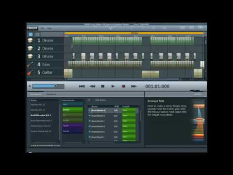 Magix Music Maker MX Premium - Eurodance Sound.