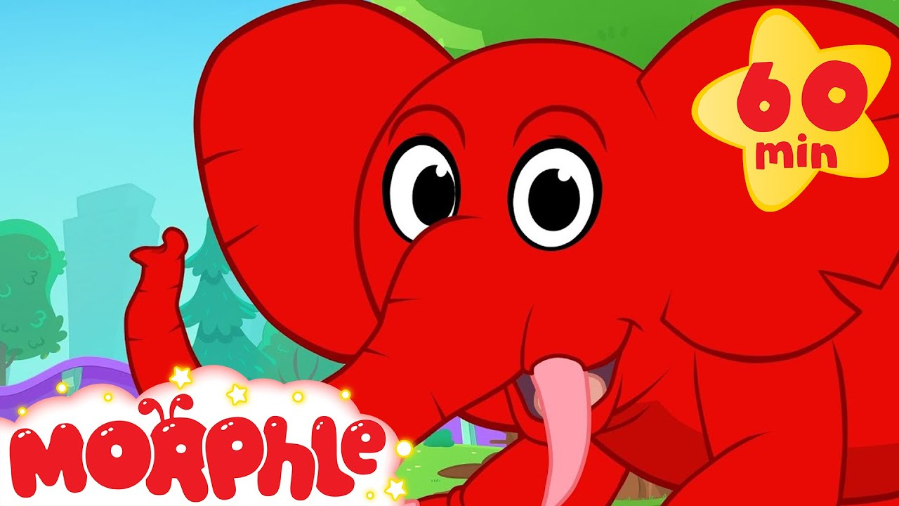 Morphle S Elephant Adventures 1 Hour Funny Morphle Kids