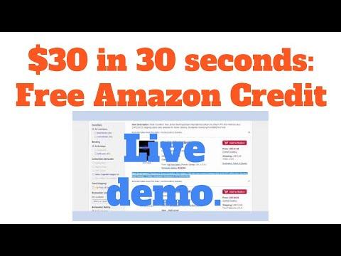 $30 in Amazon trade-credit in 30 seconds using Zen Arbitrage