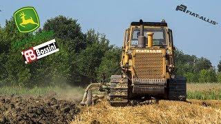 Fiat-Allis FA200 | AD20 | Aratri Borgatti | John Deere 6810 | FB Bossini | Plowing | Aratura