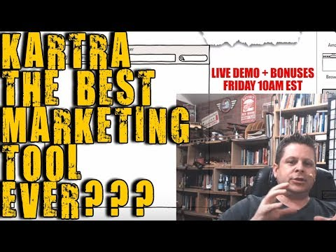 Is KARTRA Right For Your Business? Live Demo Tutorial Of Kartra PLUS Killer Bonuses From Marcus