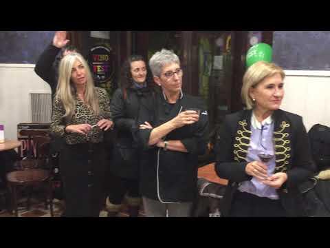 Brindis de apertura del Vinofest 2019 en Tudela