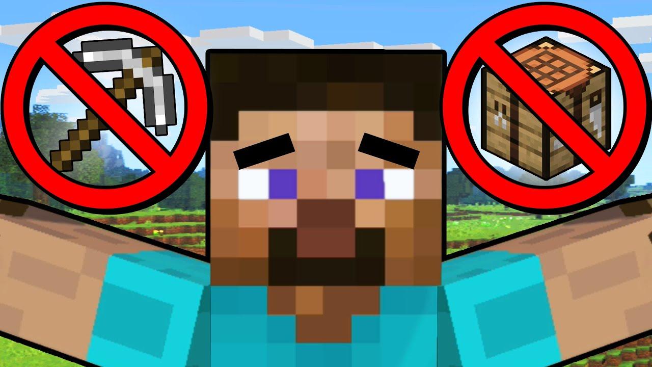Steve Elite Smash but I can't MINE or CRAFT