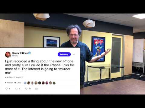 EFF Unboxes the iPhone X
