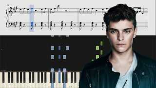 Martin Garrix & Troye Sivan - There For You - Piano Tutorial + SHEETS