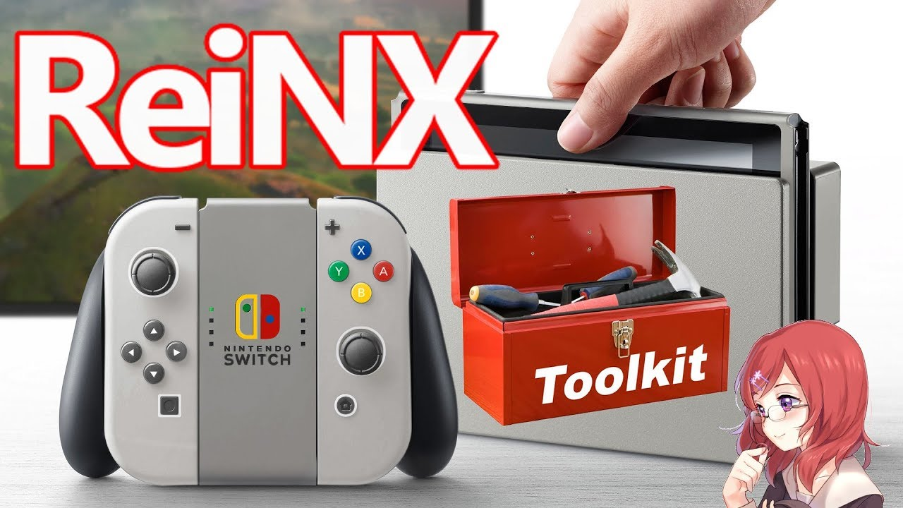 NINTENDO SWITCH: REINX TOOLKIT (AUTO RCM UPDATE NAND DUMP)