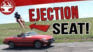 Spy Car Build: EJECTOR SEATS!