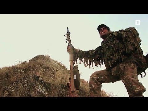 Армянская Армия. Школа снайперов/ Armenian Army. Sniper School