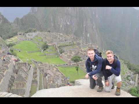 Climbing Machu Picchu!