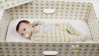 Why Babies Should Sleep In Boxes, Idea Catching On In U.S.
