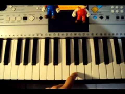 Super Mario (Theme) | Virtual Piano
