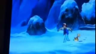 Ash, the Chosen One... or was that the Frozen One???