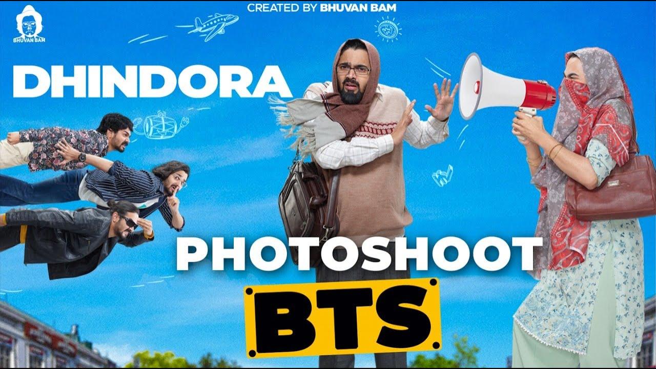 Dhindora Photoshoot BTS   BBKV Productions @BB Ki Vines