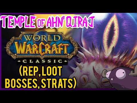 Temple of Ahn'Qiraj (AQ40) Classic WoW Guide 👁️ DUNGEON DIVES from YouTube · Duration:  24 minutes 13 seconds