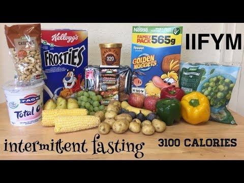 IIFYM Full Day Of Eating - Lean Bulk 3100 Calorie Italiano (ENG SUB)