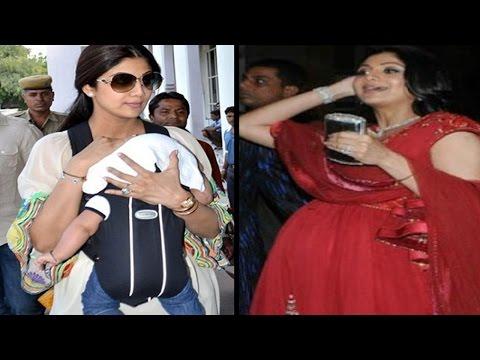 शिल्पा सेट्टी के घर आई नन्ही परी | Shilpa Shetty Welcomes Little Angel
