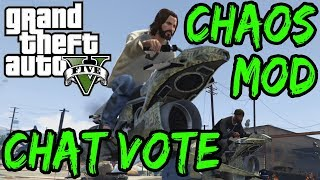 GTA V Chaos Mod Speedrun With Chat Voting!