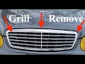How To Replace the Grill on a Mercedes w211